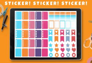 GoodNotes Sticker Vorschau